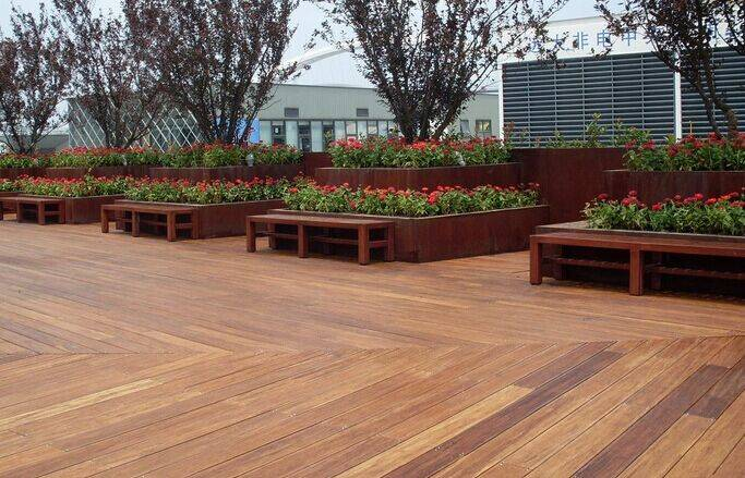 High Resistant Outdoor Bamboo Flooring