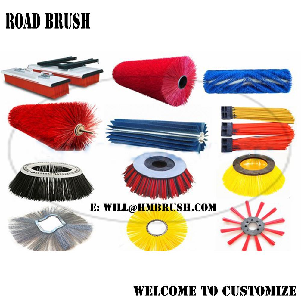 Road Sweeping Side Brush Gutter Broom Roller Brushes