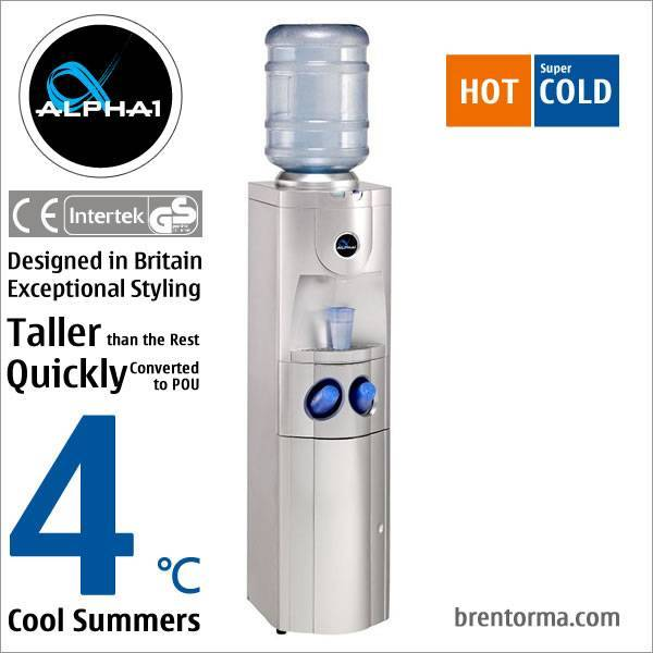 ALPHA 1 Exceptionally Styled Free Standing Bottled Water Dispenser