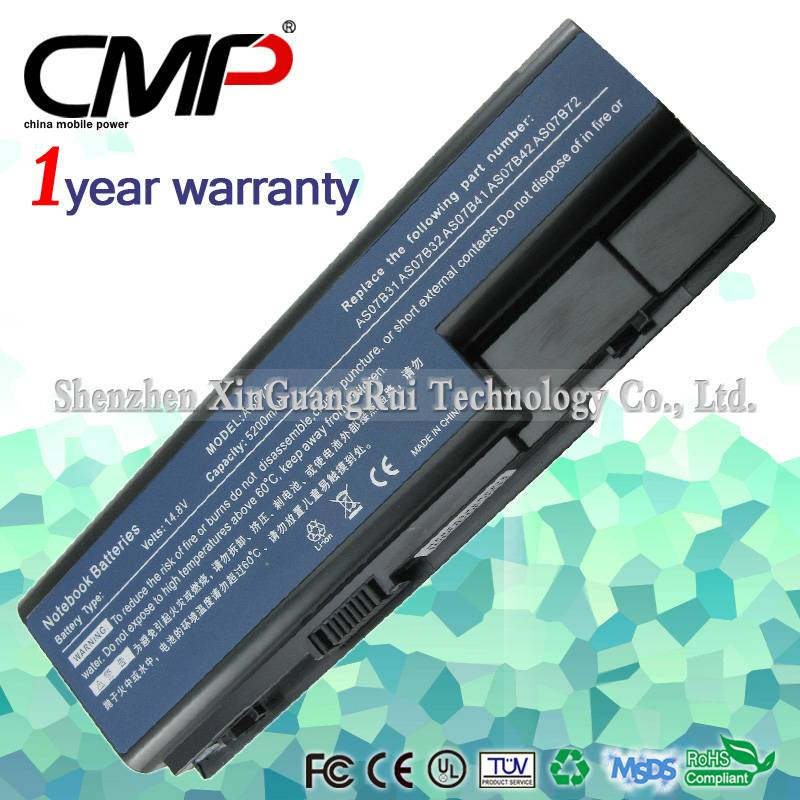 8 Cell Battery For Gateway NV73 NV74 NV78 NV79