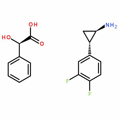 (1R,2R)-2-(3,4-difluorophenyl)cyclopropanamine(S)-(carboxylato(phenyl)methyl)holmium