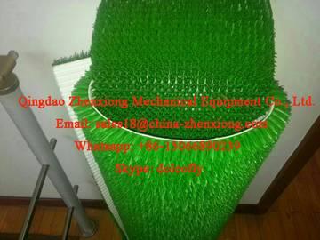 PE artificial grass mat extrusion machine