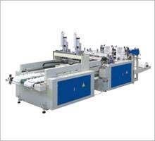 Automatic hot sealing and high speed bag-making