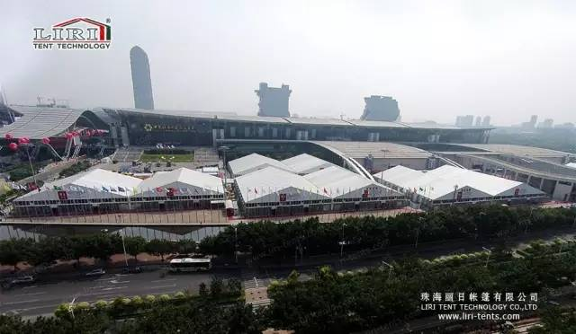 40m Big Tent for 120th Canton Fair, Large Exhibition Tent for Sale
