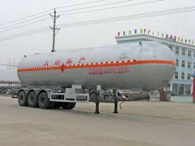 50000-60000L LPG tanker semi trailer