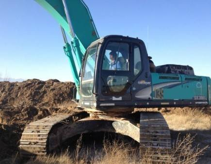 sk350-8 kobelco excavator crawler tractor for sale