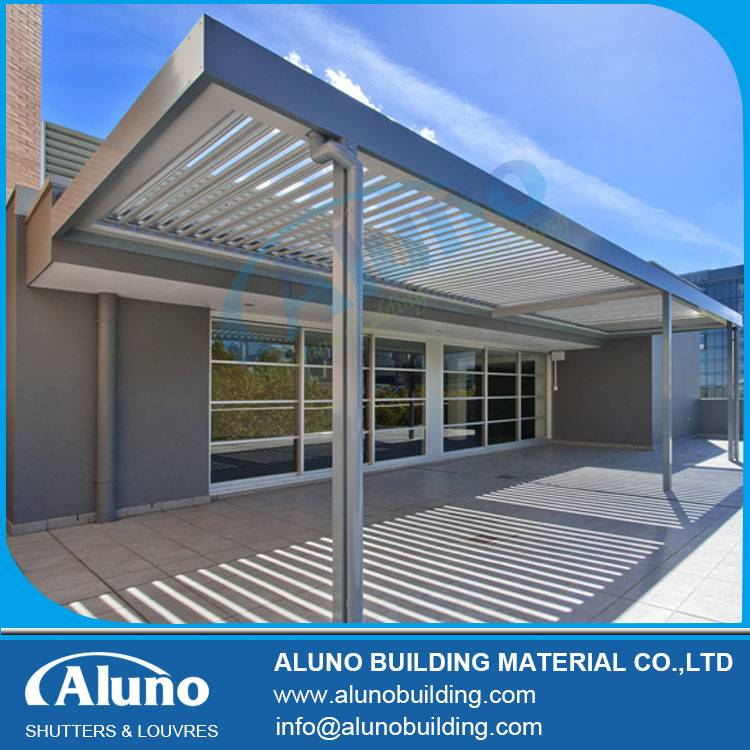 Water Proof Aluminum Louver Opening Roof