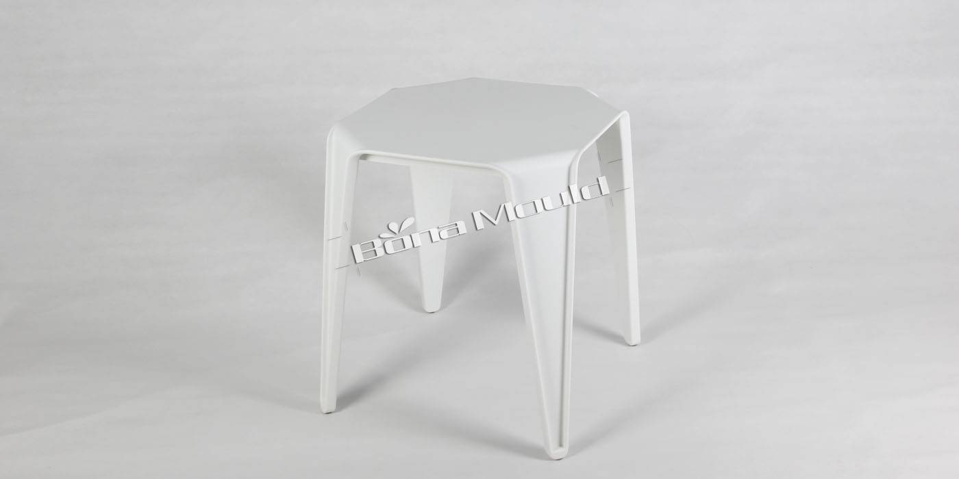 Plastic round table mould