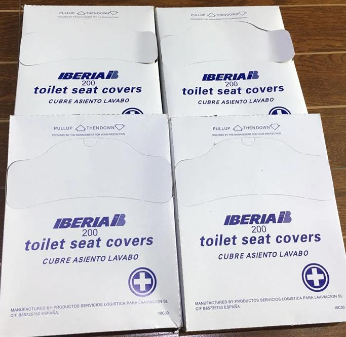 Quarter Fold Paper Toilet Seat Cover