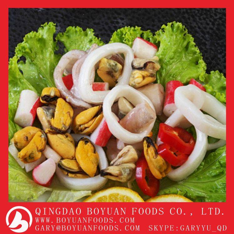 High quality frozen seafood mix with cheap prices