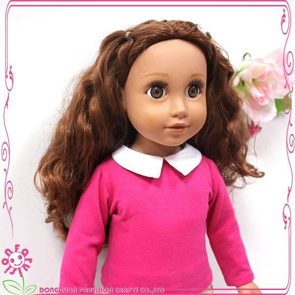 18 inch Porcelain doll,Rotocast Vinyl Doll