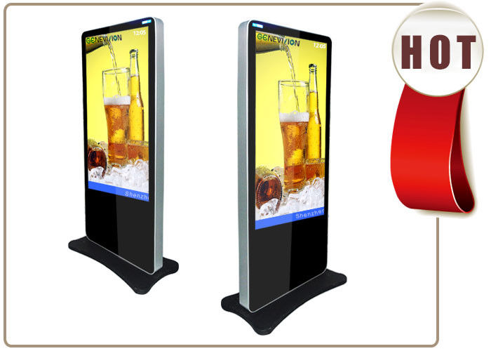 LCD display advertising player Kiosk Digital Signage with USB port