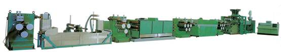 PET PP Strapping band extrusion line