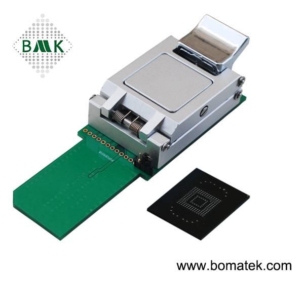 FBGA153 Test Socket FBGA169 Test Socket eMMC Test Socket