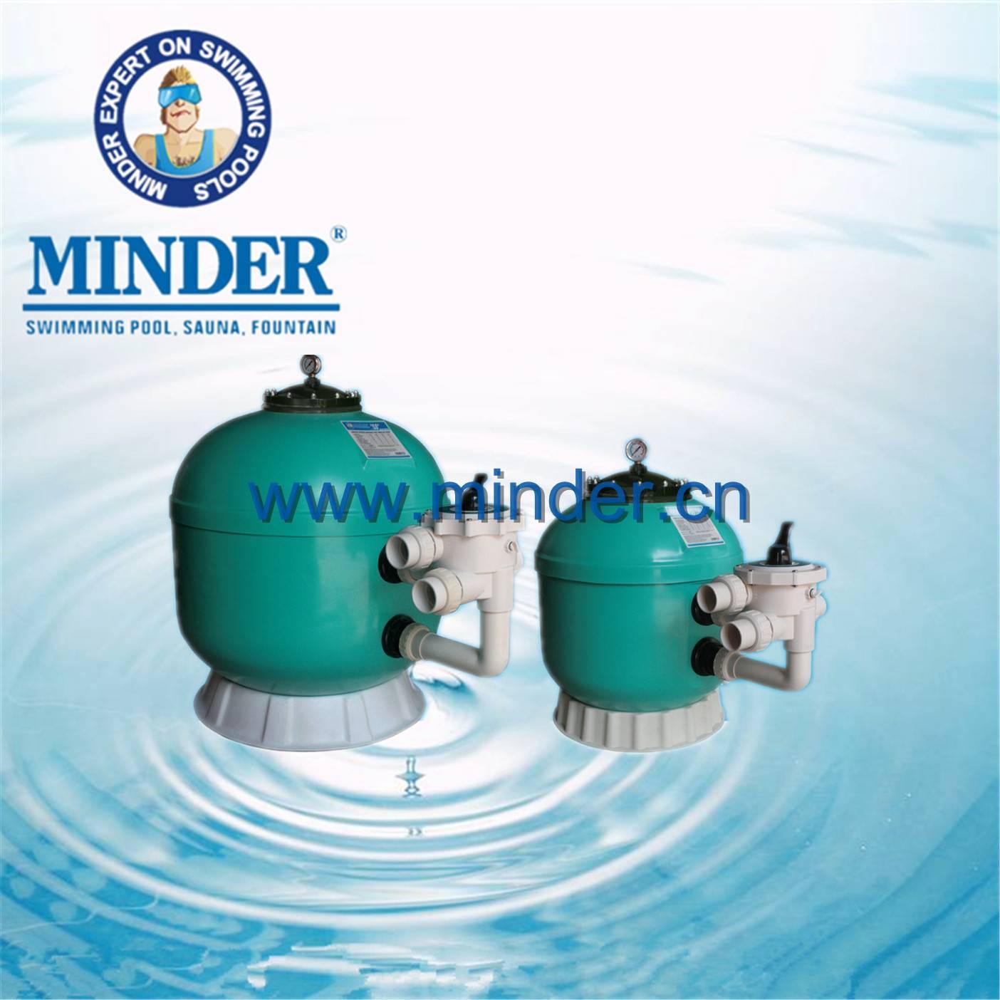 GS series 1.5 valve swimming pool sand filter pool filter