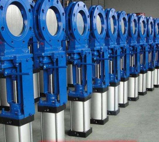 STAINLESS STEEL/CAST IRON WAFER OR FULLY LUGGED KNIFE GATE VALVE