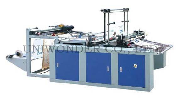 Heating Sealing and Cold Cutting Bag Making Machine