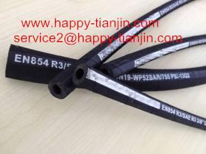 Fiber Braid Rubber Covered Hydraulic Hose