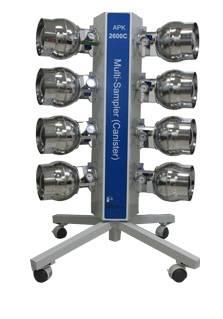 APK2600C Canister Multi-sampler