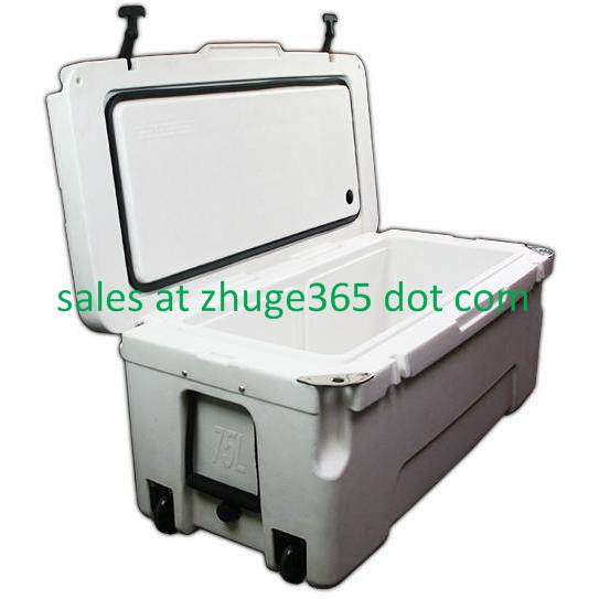 Hot Sell 75 Liter White Marine Ice Box | Cooler for camping