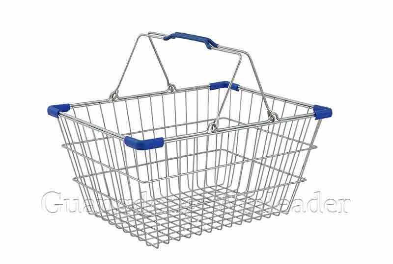 YLD-WB17 Shopping Basket,Wire Hand Basket,Wire Hand Basket for Sale,Wire Hand Basket Retail,Wire Han