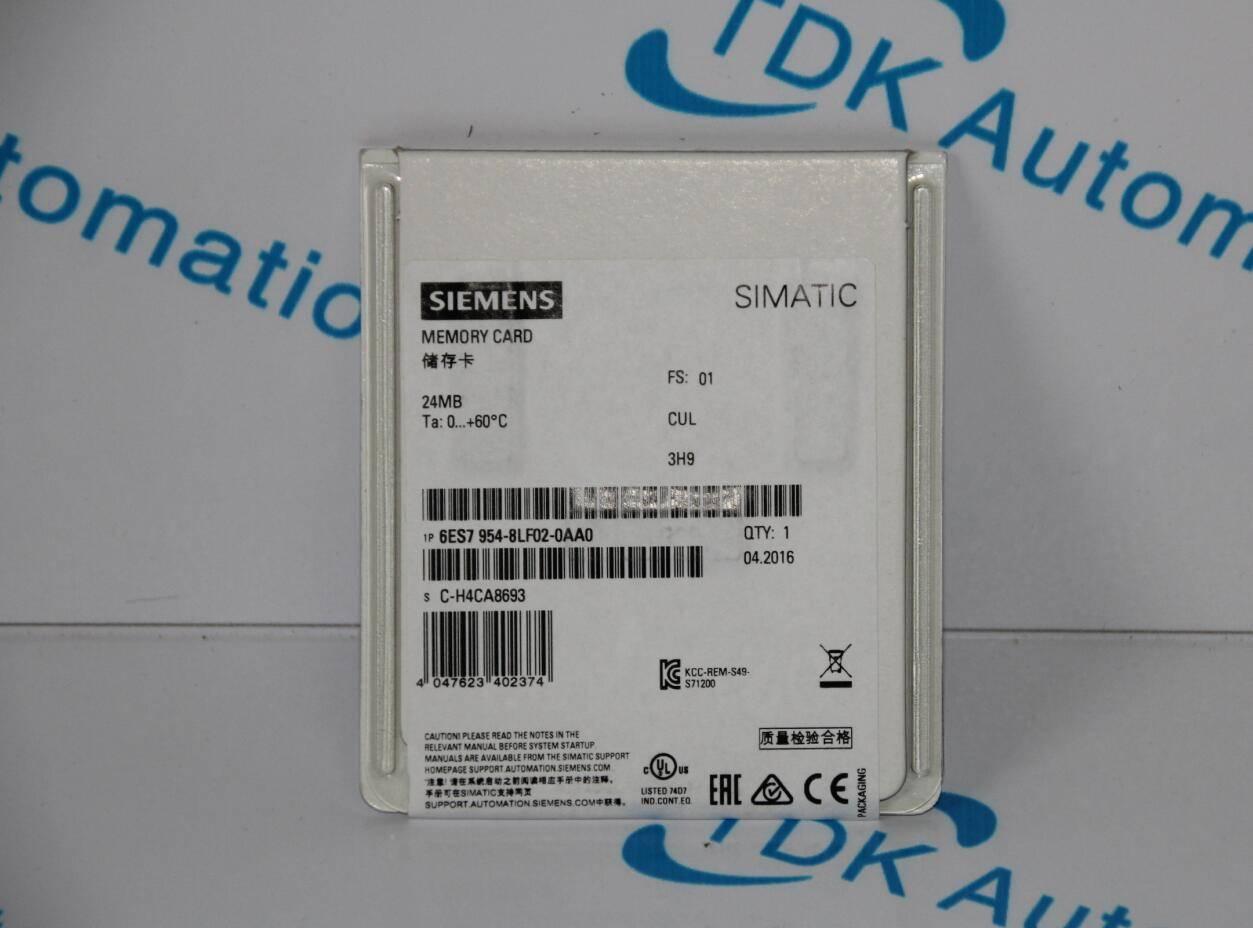 SIEMENS PLC MEMORY CARD 6ES7954-8LF02-0AA0