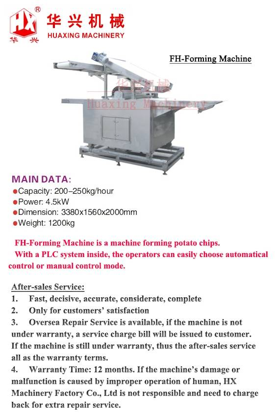 FH-Forming Machine