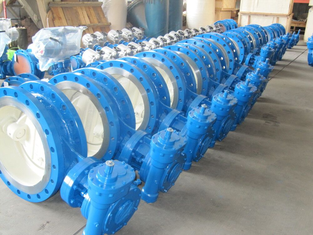 rotating ball valve with double direction metal sealing