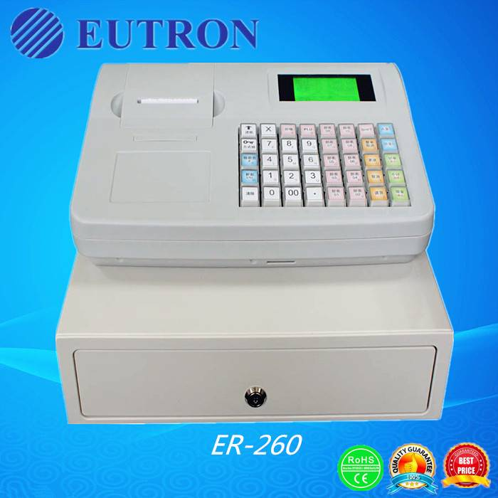 Electronic Cash Register, Eutron ER-260