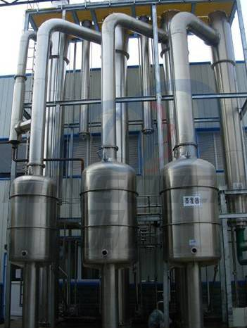 Three Effect Falling Film Evaporator/ Dairy Evaporator