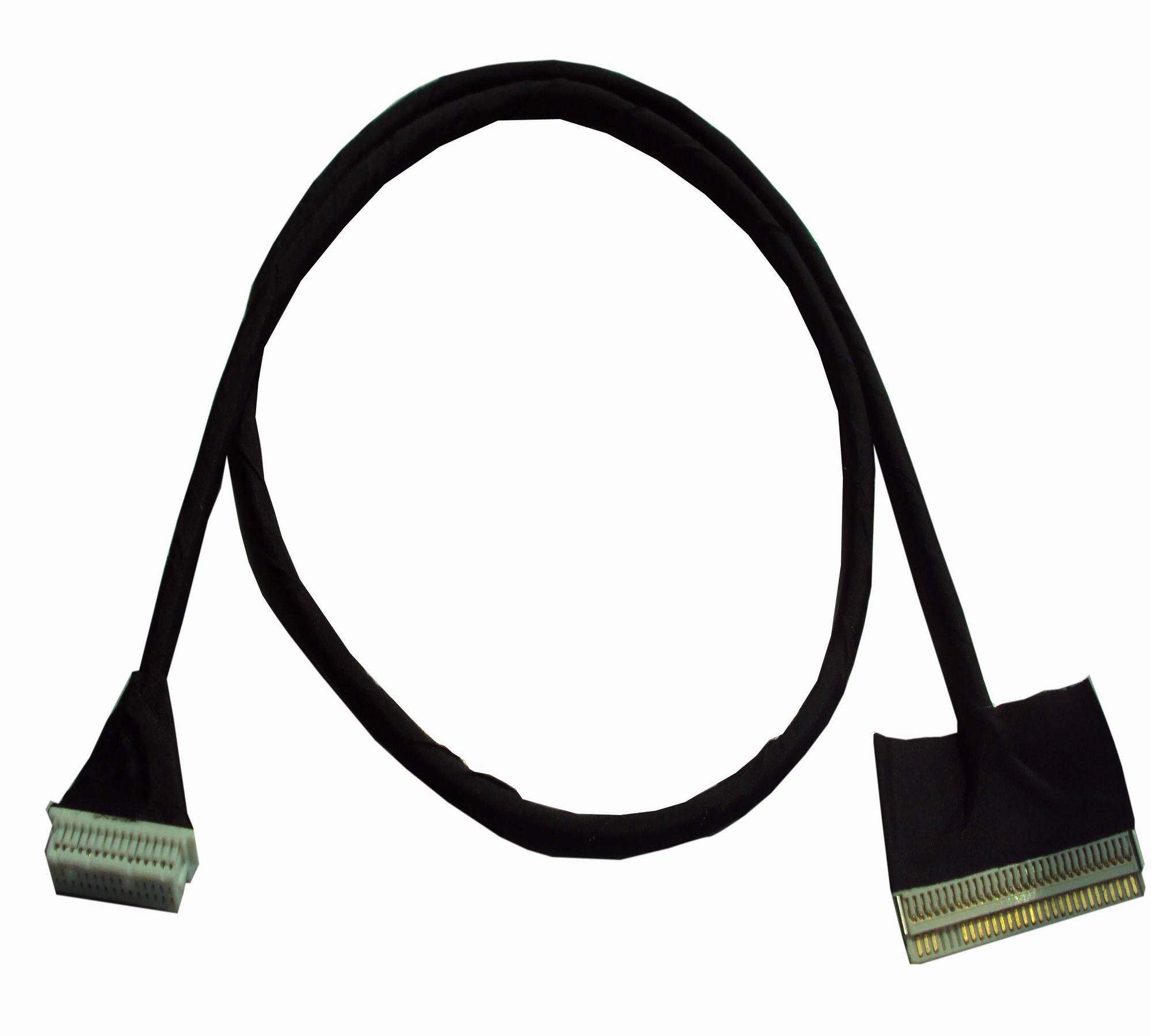 LVDS cable for touchscreen entertainment system