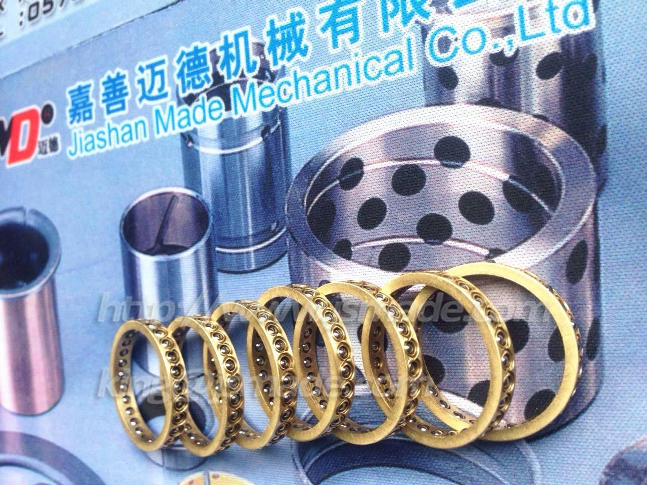 Linear Bearings and Guides Ball bearings