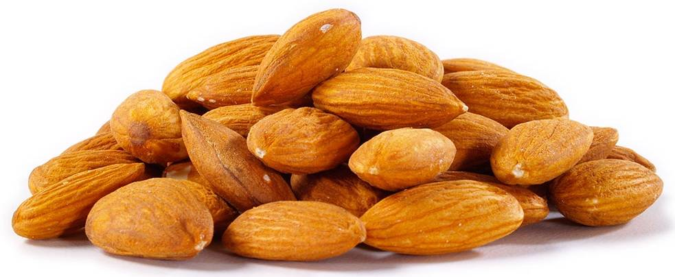 Almonds without shell