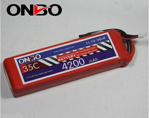 4200mah 35c 3s 11.1v lipo batteries