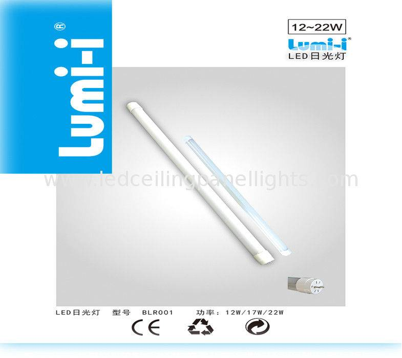 T8 12 Watt 2 Ft LED Tube Lights for Hotel or Office Warm White AC 100V ~ 240V 2700K ~ 6500K
