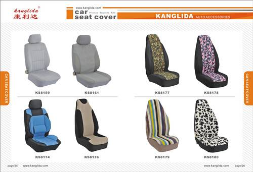 2014 Polyester toyota car interior decoration seat covers