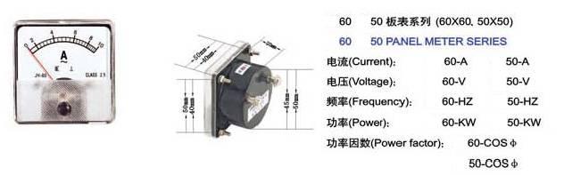 Panel Meter 6060/5050