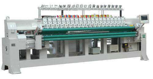 RPEQ Sequins Embroidery with Quilting machine