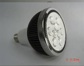 PAR38 LED Spotlight with 16W and E27/GU10 Base