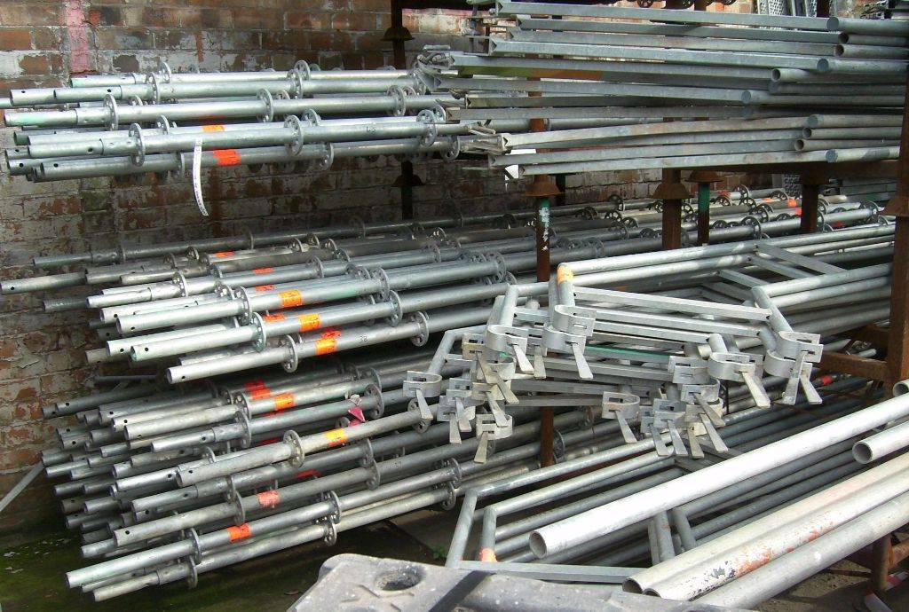 layher allround - used scaffolding