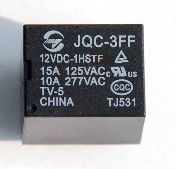 relay 12VDC /24VDC model No.JQC-3FF