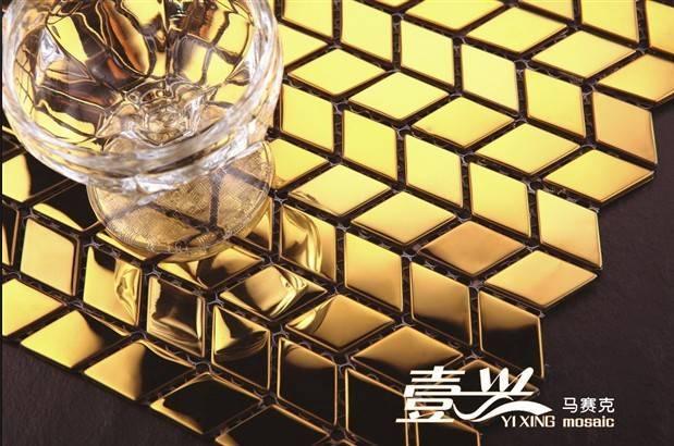 Metallic mosaic tile, stianless steel mosaic tile.