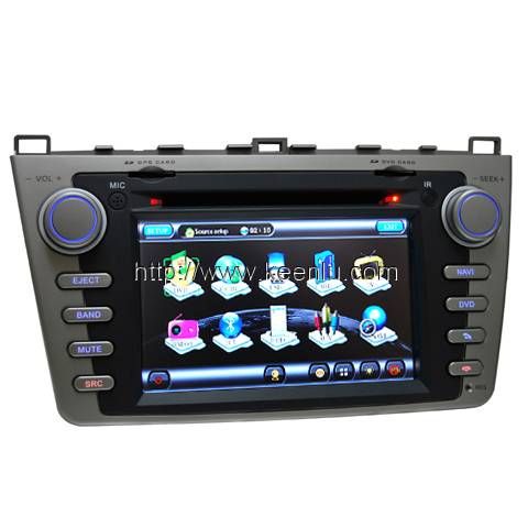 All-in-one Special Car DVD Player for New Mazda 6