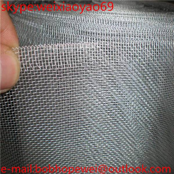 2015 cheap good quality galvanized insect window screen