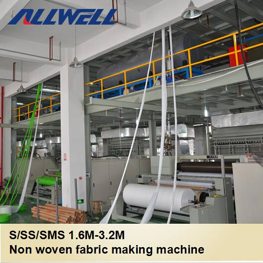 Single S 1600mm PP Spunbond non woven fabrics making machine
