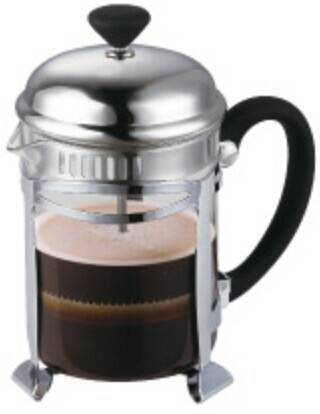 2014 New 304# Stainless steel french press coffee maker in 600ml