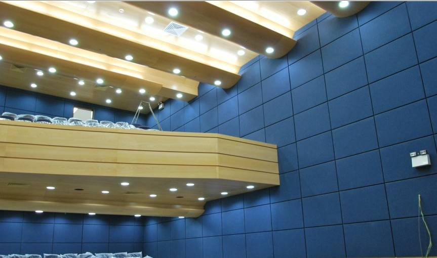 fiberic absorber acoustic panel from china