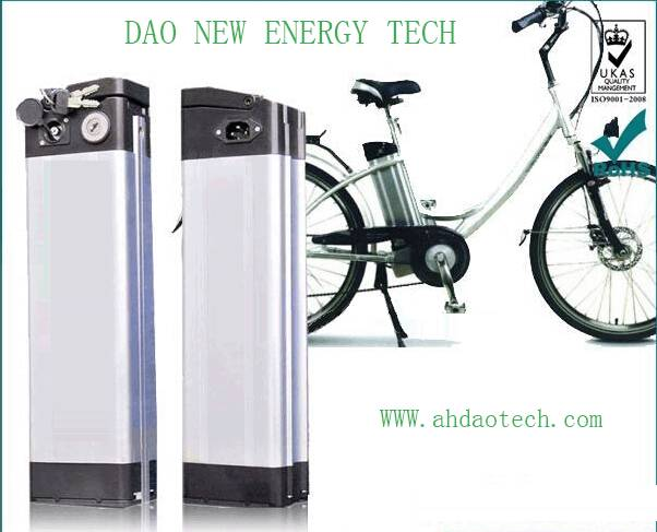 24V 20Ah li-ion e-bike battery pack