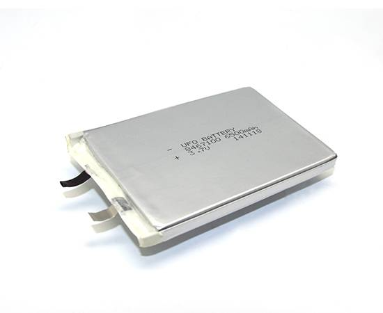 3.7V 6500mAh Lithium ion Polymer Rechargeable Battery Cell