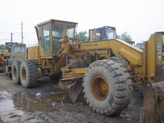 CAT 14G used motor grader for sale, original  grader